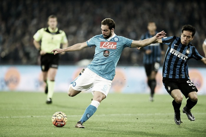 Inter - Napoli Preview: No Higuain to lead the line against Champions League chasers