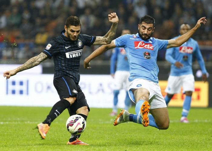 Risultato Napoli - Inter in Coppa Italia 2015/16: Jovetic la sblocca, Ljajic la chiude (0-2)