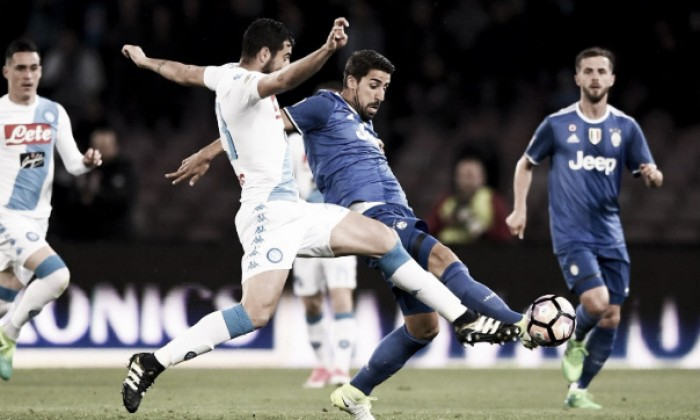 Napoli-Juve 1-1, le pagelle bianconere: si salvano Pjanic e Khedira, bocciato Asamoah