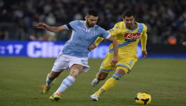 Live Lazio - Napoli in risultato Coppa Italia(1-1)