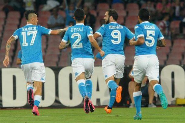 Ecco il Napoli: liquidata la Lazio con un mostruoso 5-0