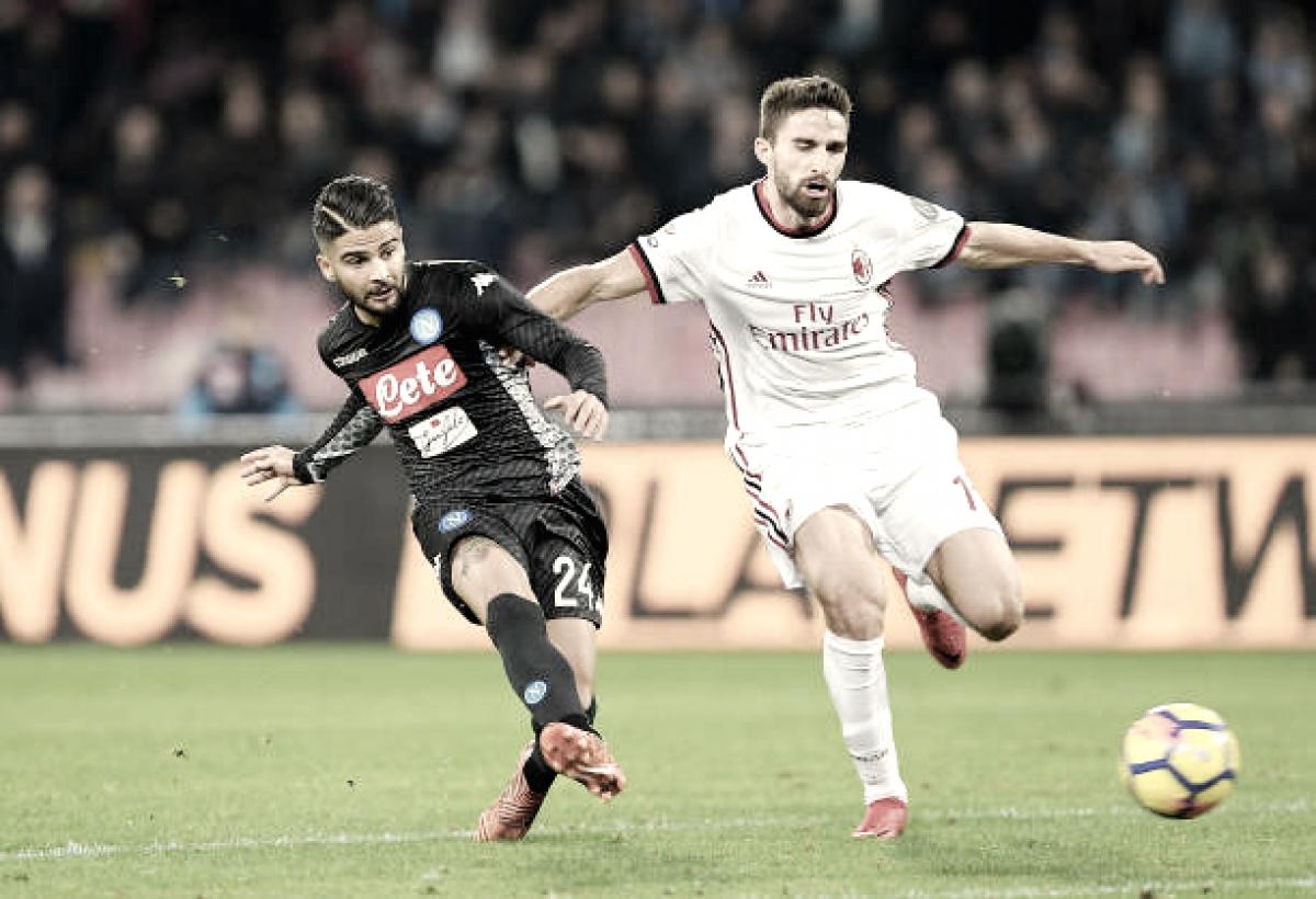 Napoli mira vitória sobre desfalcado Milan para seguir almejando Scudetto