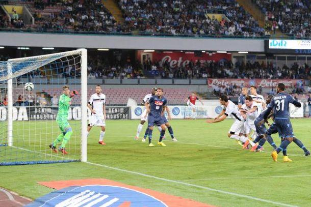 E' festa del gol al San Paolo: 3-3 tra Napoli e Palermo