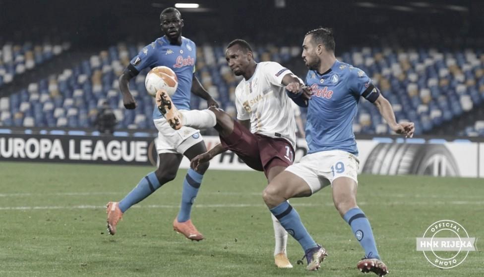 Napoli confirma favoritismo, vence Rijeka e lidera grupo na Europa League