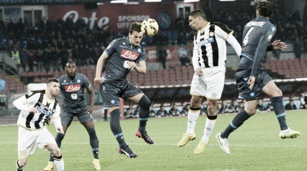 Diretta Napoli - Udinese in risultato partita serie A
