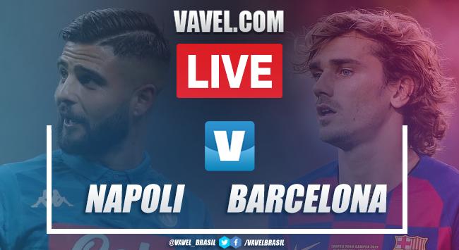 Gols e melhores momentos de Napoli 1x2 Barcelona