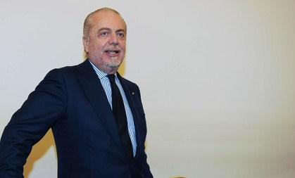 """De Laurentiis: """"Buona fortuna Pocho"""""""