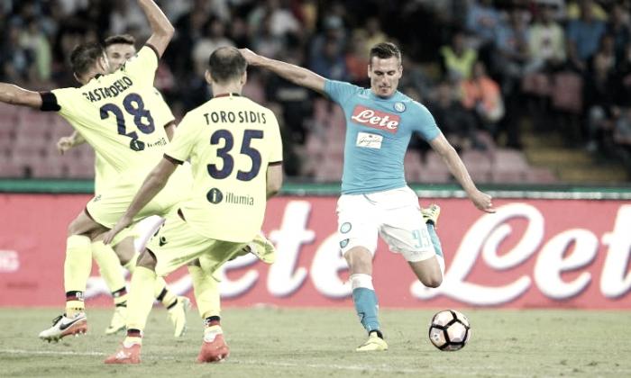 Serie A - Bologna e Napoli di fronte per ripartire subito