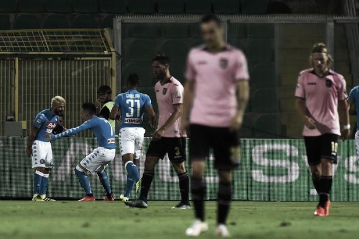 Napoli resolve jogo na segunda etapa com dois de Callejón e bate Palermo
