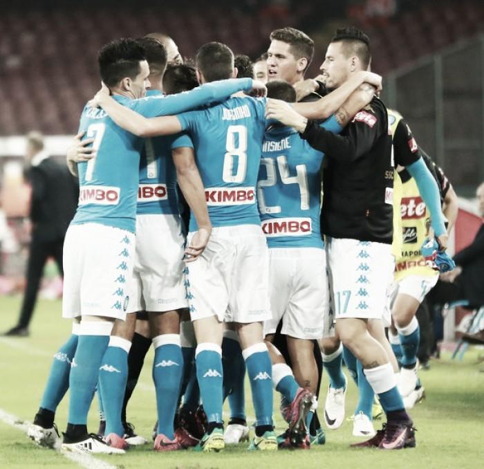 Napoli pressiona, mas sofre para bater Empoli