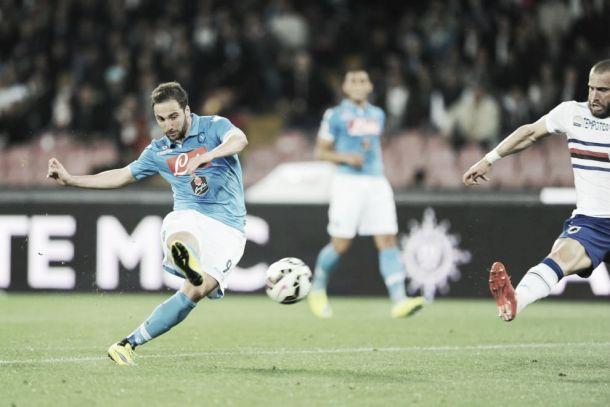 Live Napoli - Sampdoria, risultato partita Serie A 2015/2016  (2-2)