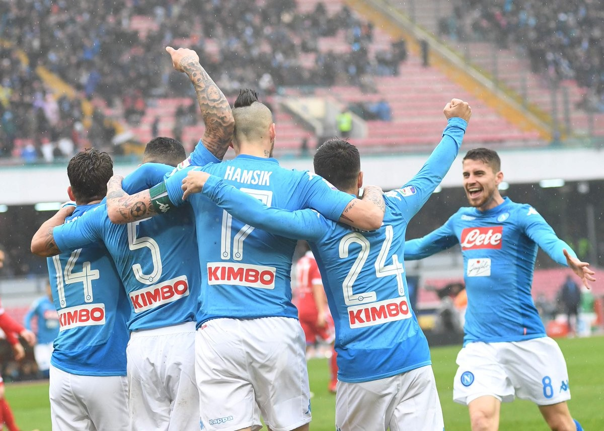 Serie A - Il Napoli risponde alla Juve: con la Spal basta Allan (1-0)