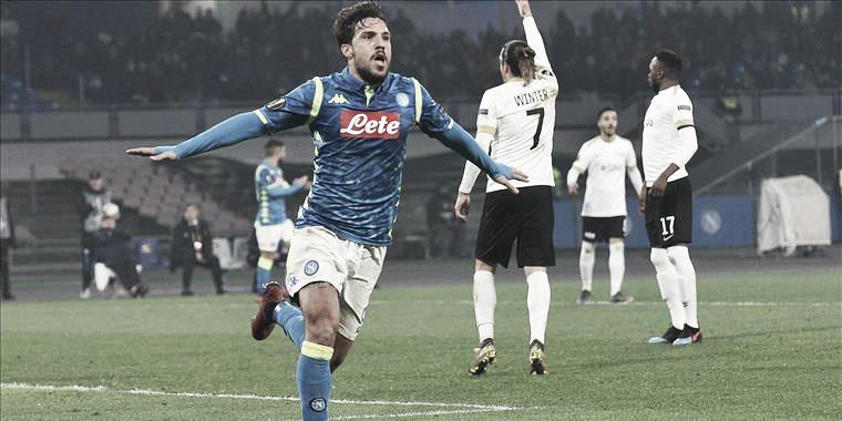 Napoli conquista vitória protocolar contra Zurich e avança na Liga Europa