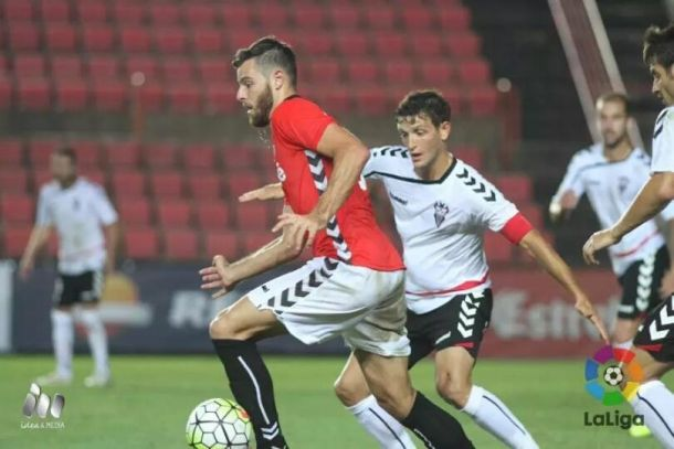 El Nàstic da por bueno un punto que sabe a tres ante el Albacete