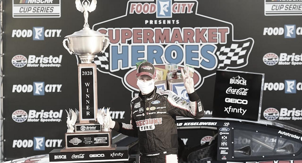 NASCAR Cup: Keselowski la gana sobre el final