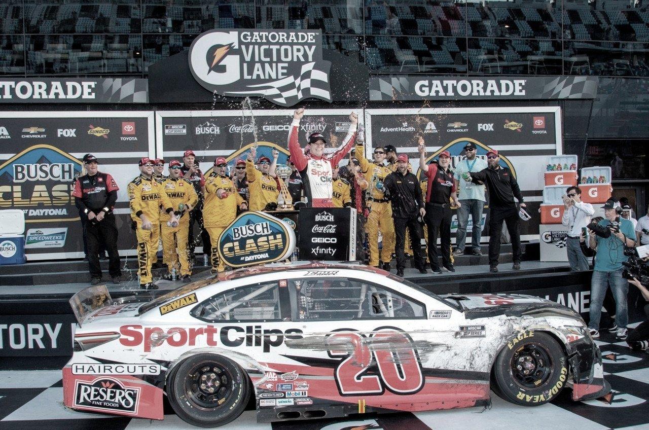 NASCAR Cup: Jones se lleva la victoria en el Clash