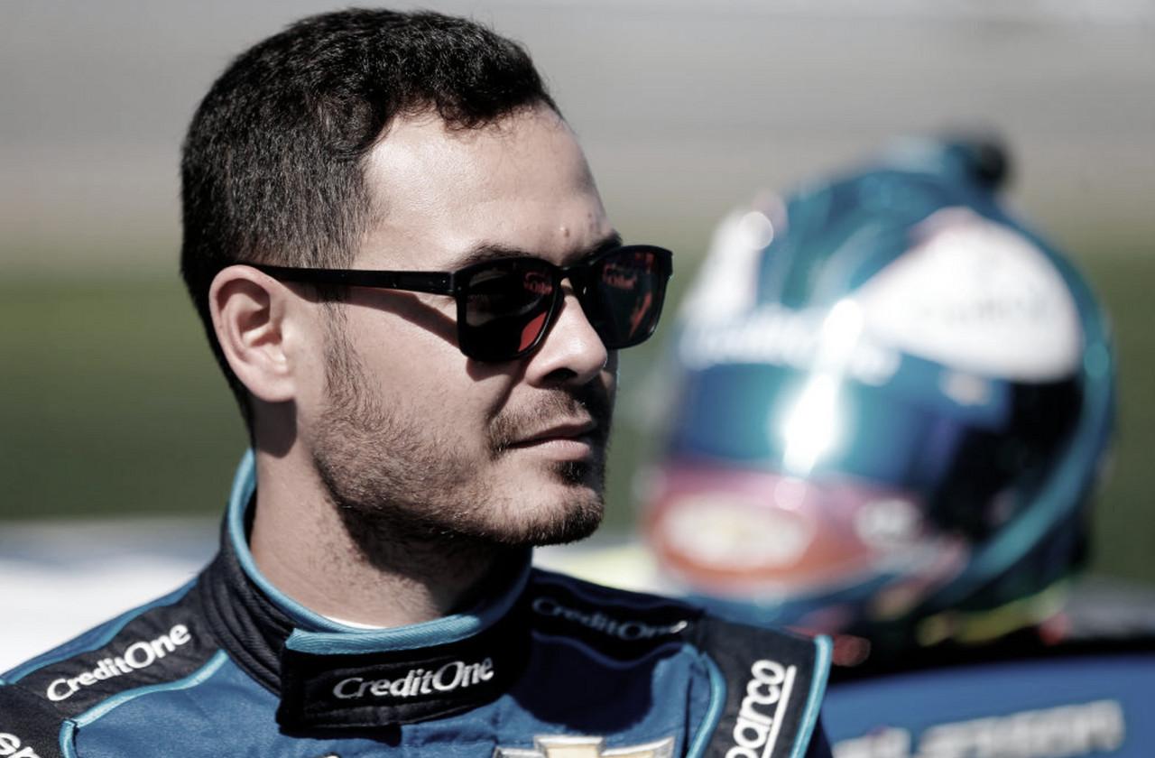 Larson en la grilla de partida previó al inicio de la Daytona 500 de 2020 / Foto: NASCAR Website