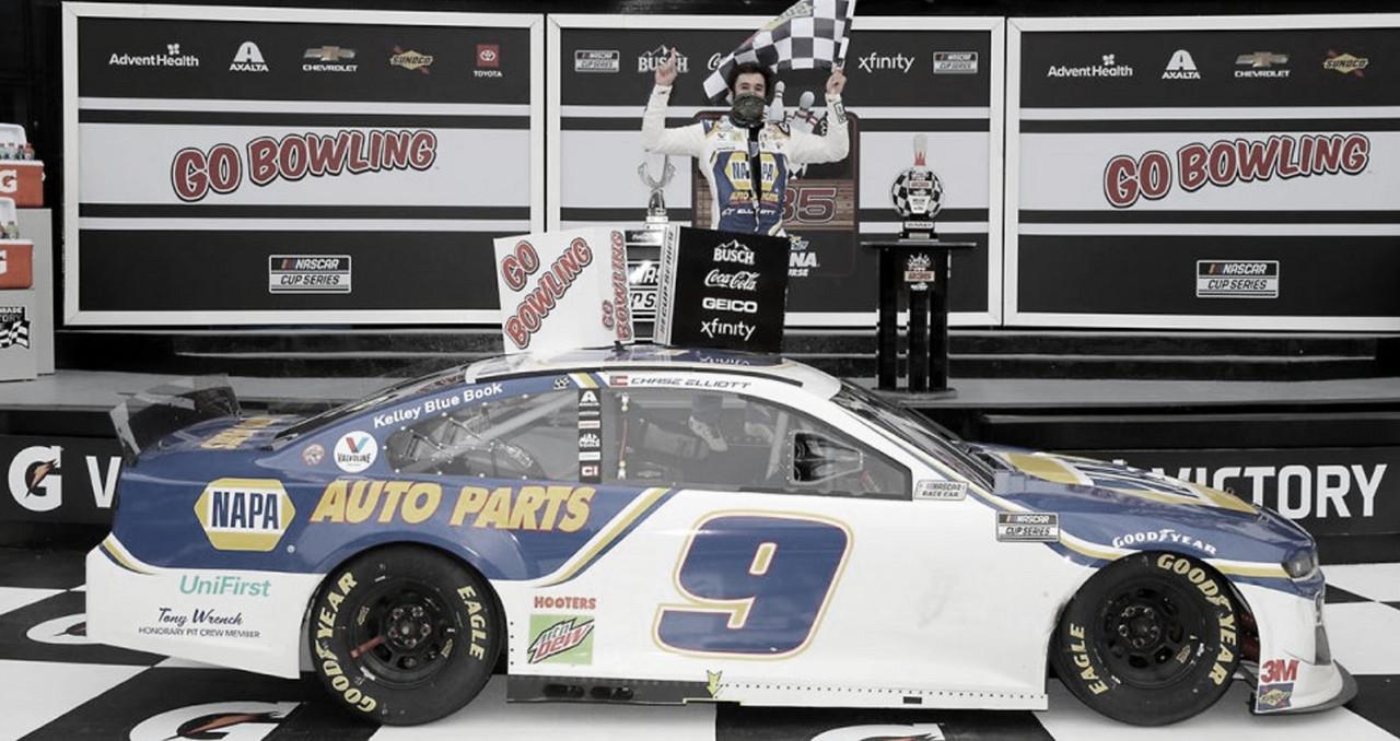 NASCAR Cup: Elliott gana en el circuito de Daytona