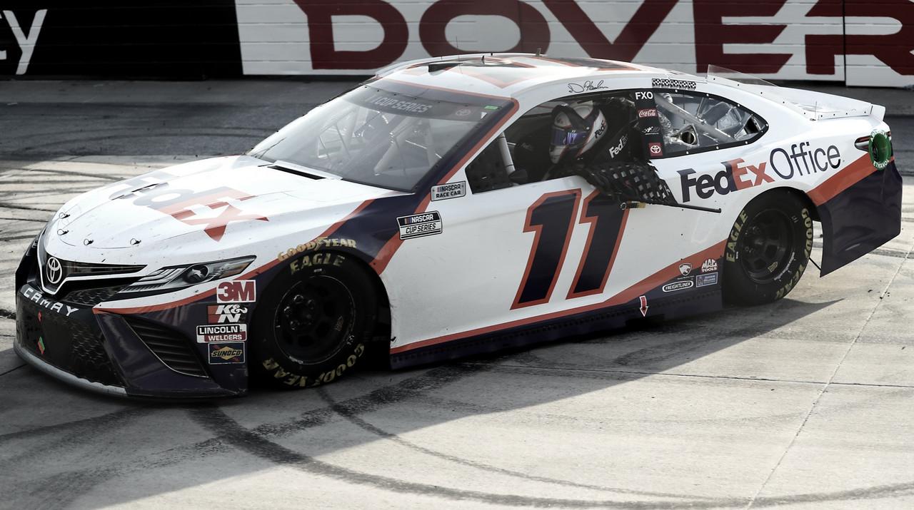 NASCAR Cup: Hamlin domina en Dover