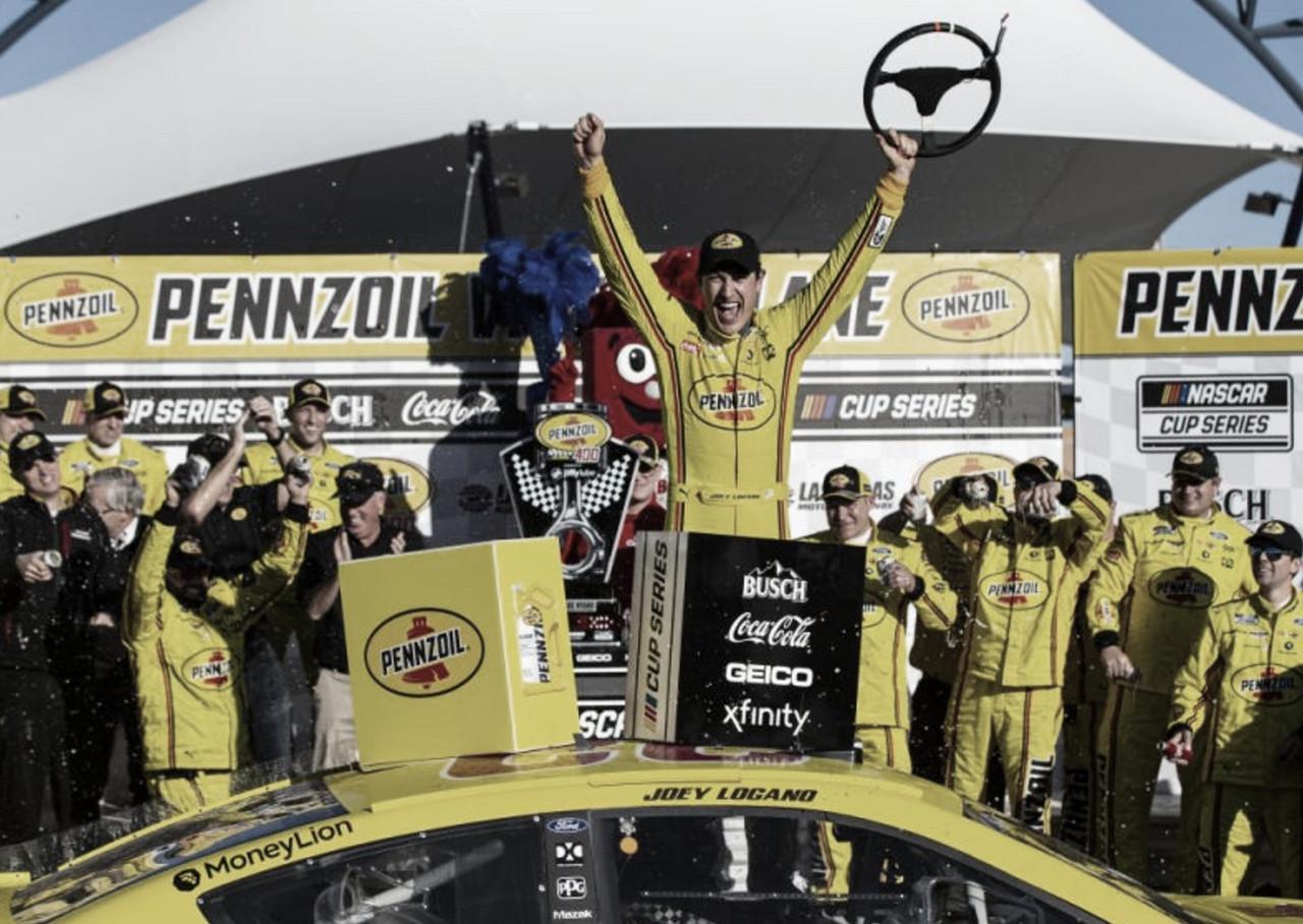 NASCAR Cup: Victoria de Logano en Las Vegas