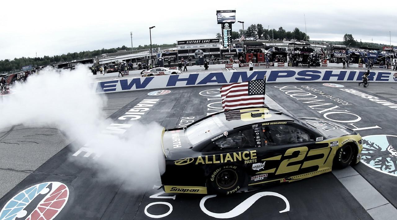 NASCAR Cup: Keselowski gana en la milla mágica