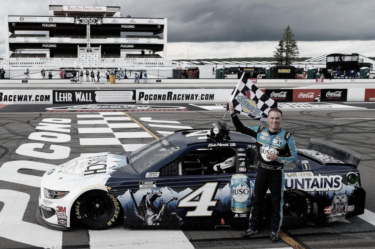 NASCAR Cup: la primera de Harvick en Pocono