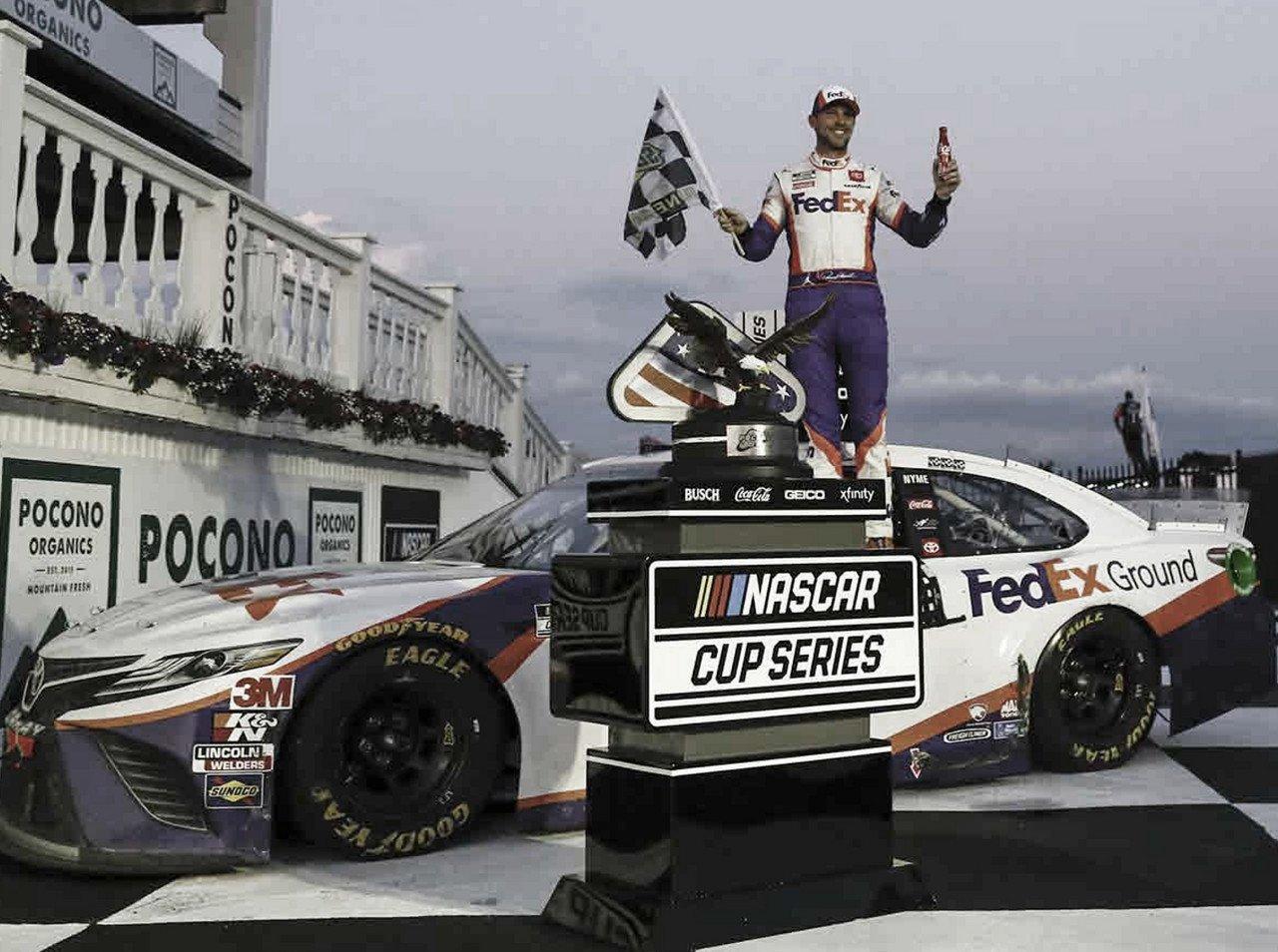 NASCAR Cup: Hamlin vuelve a ganar en Pocono