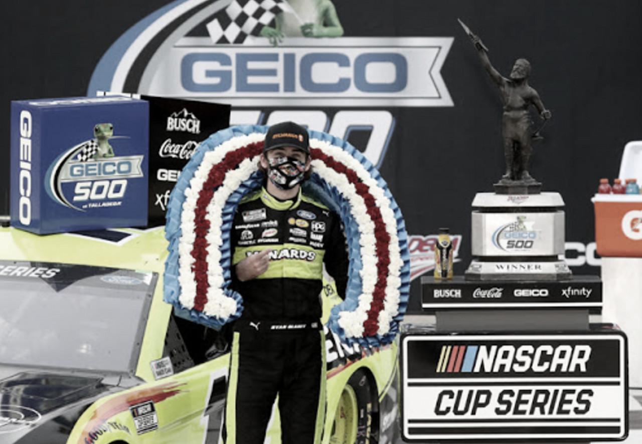NASCAR Cup: Blaney gana en un final de infarto