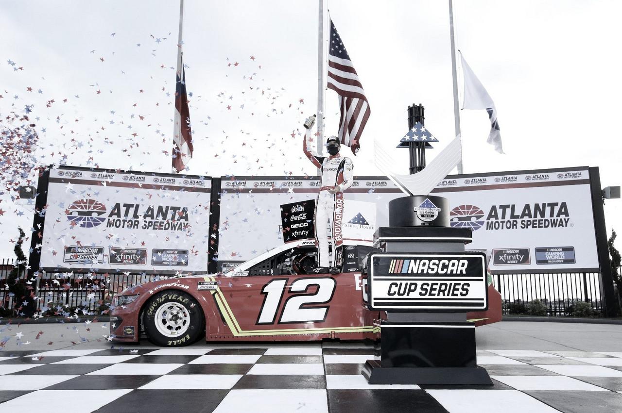 NASCAR Cup: Blaney gana sobre el final en Atlanta