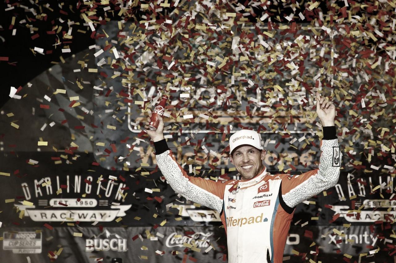 NASCAR Cup: Hamlin volvió al triunfo en Darlington