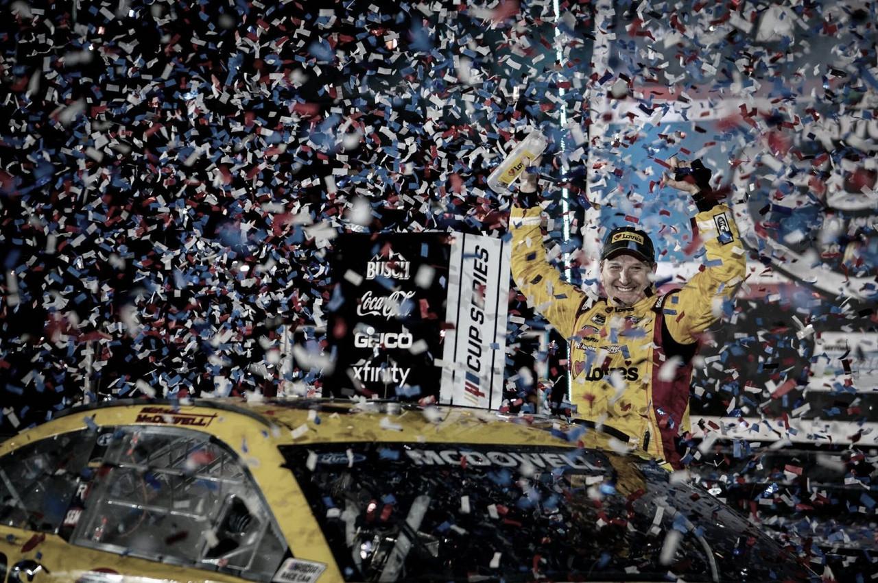 NASCAR Cup: ¡McDowell gana las 500!