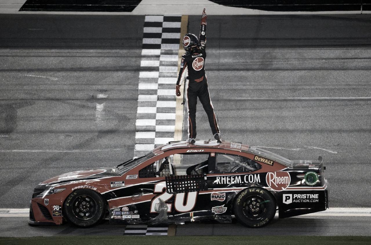 NASCAR Cup: Primera para Christopher Bell