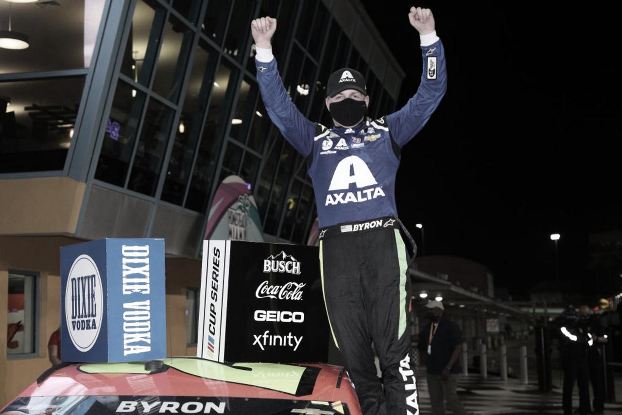 NASCAR Cup: Byron gana en Homestead