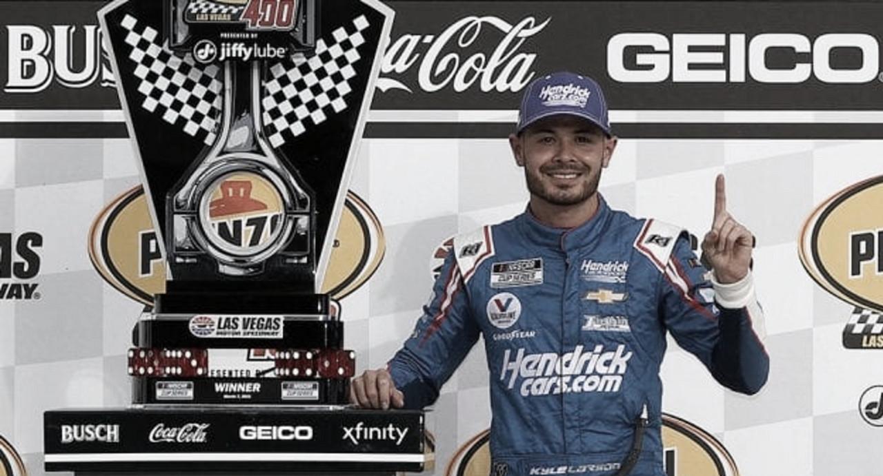 NASCAR Cup: Larson vuelve a la victoria en Las Vegas