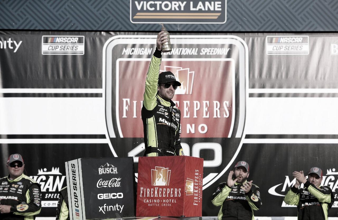 NASCAR Cup: victoria de Blaney en Michigan
