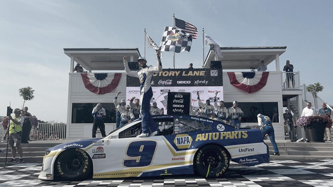 NASCAR Cup: Elliott volvió a ganar en un circuito