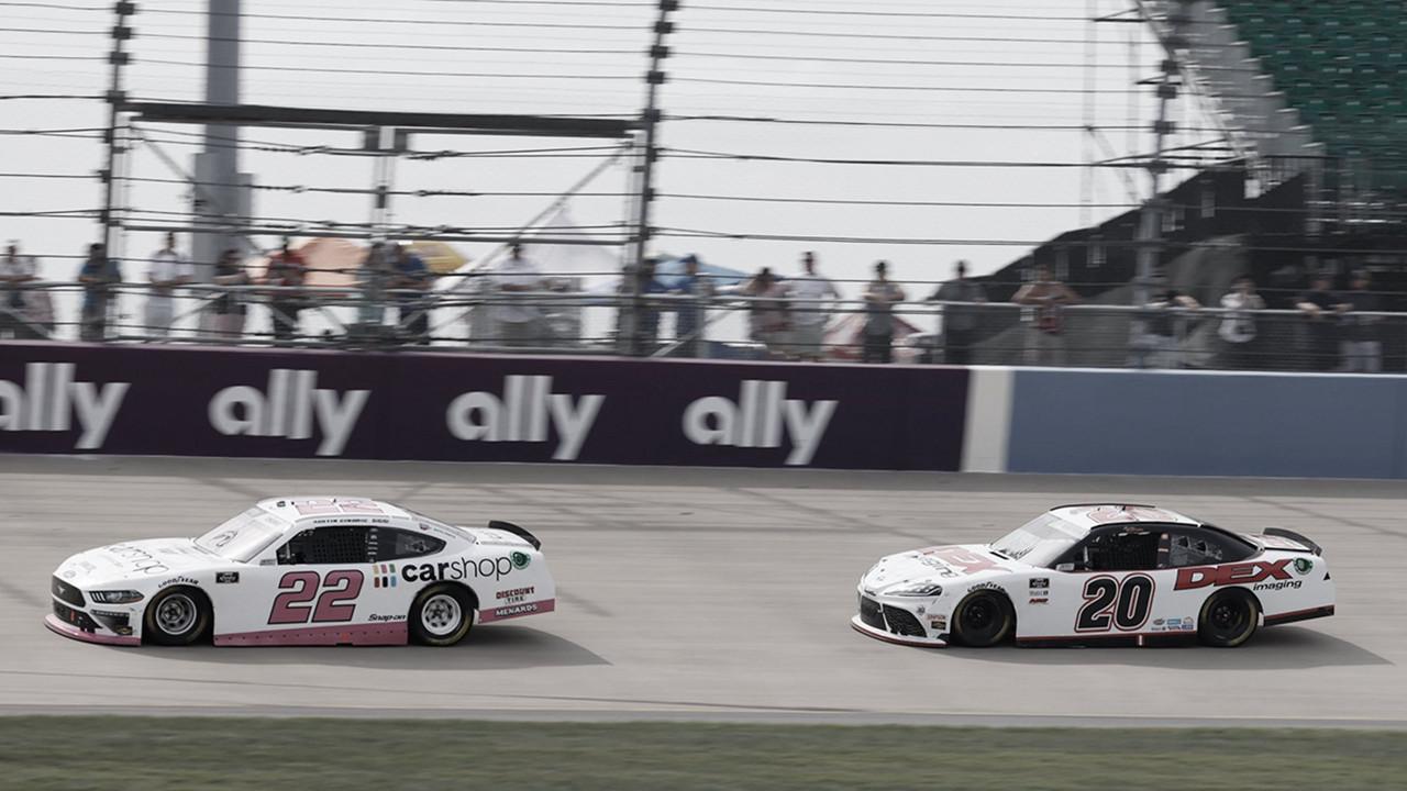 NASCAR: Cindric y Burton suben a Cup en 2022