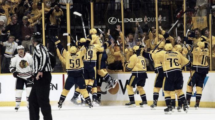 Predators y Ducks ponen la directa, Senators y Leafs se adelantan en sus series