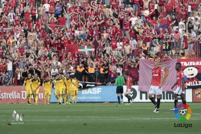 Osasuna se vuelve a imponer al Nàstic y acaba con el sueño grana