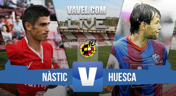 Resultado Nàstic de Tarragona - Huesca en Segunda División B 2015 (3-1)