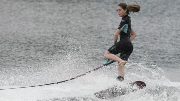 Esquí Acuático: Natalia Cuglievan quinta en el mundo