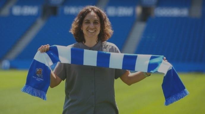 Natalia Arroyo, nueva entrenadora de la Real