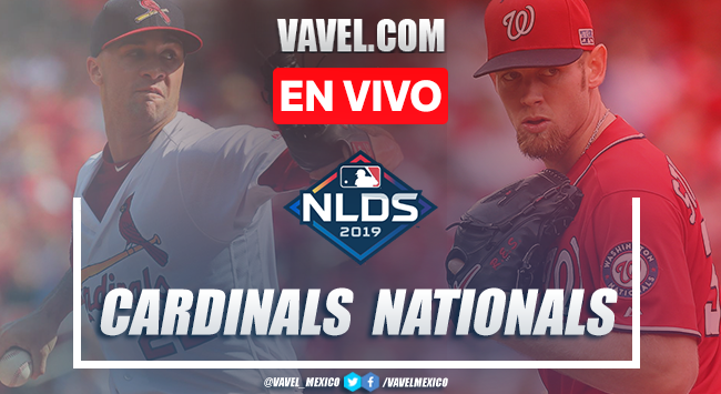Cardinals vs Nationals EN VIVO transmisión online (0-4)