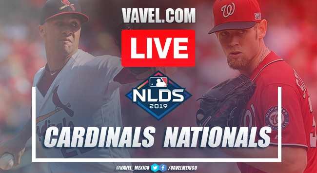 St. Louis Cardinals vs Washington Nationals: Live Stream Online NLCS Game 3 MLB 2019 (1-7)