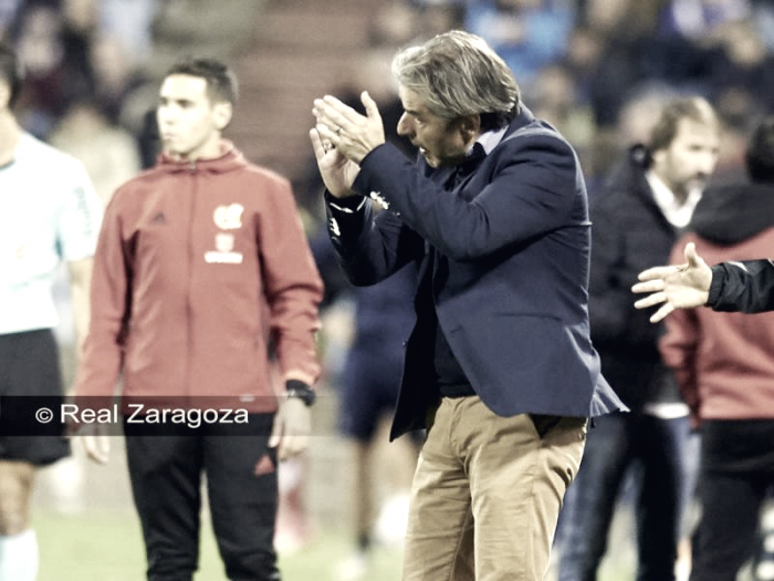 Natxo González no levanta al Real Zaragoza