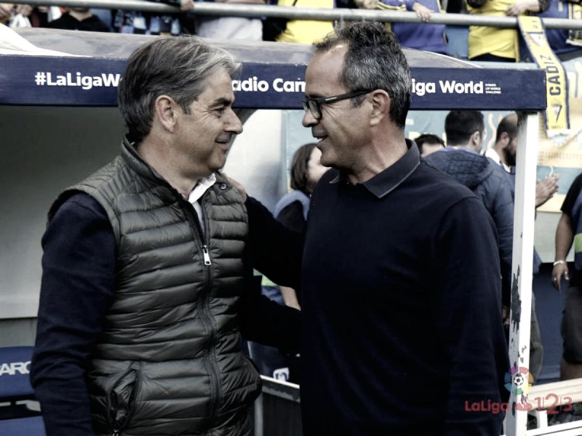 """Natxo González: """"Cuando el Cádiz se te pone por delante es muy difícil remontarle"""""""