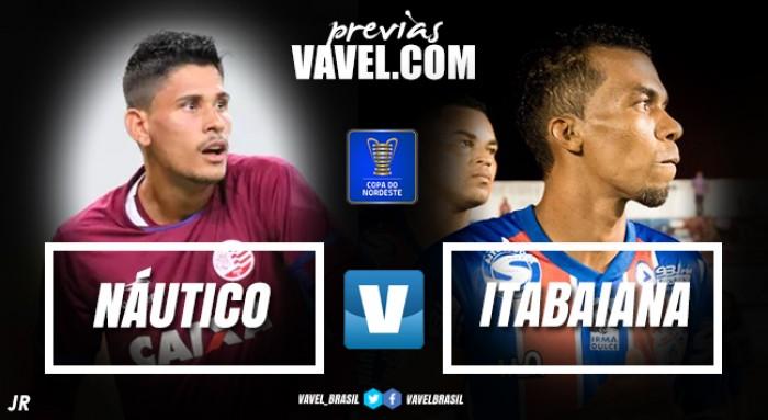 Por vaga na fase de grupos da Copa do Nordeste, Náutico e Itabaiana duelam na Arena de Pernambuco