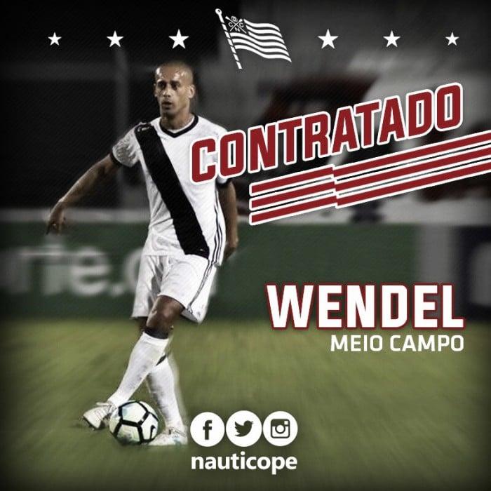 Náutico confirma contratação do volante Wendel, ex-Sport