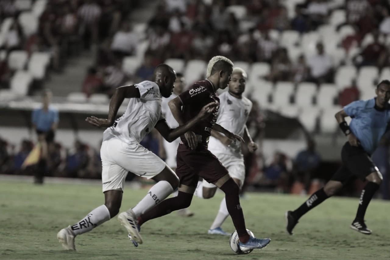 Pela Copa do Nordeste, Náutico empata com ABC e sai vaiado nos Aflitos