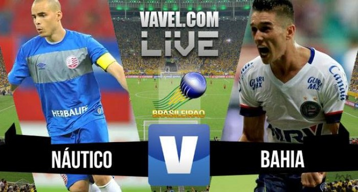 Resultado Náutico x Bahia na Série B do Campeonato Brasileiro 2016 (0-0)